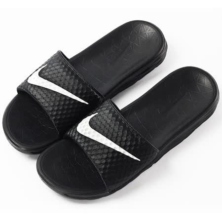 nike FREE BENASSI SOLARSOFT  拖鞋 黑 - 831171010
