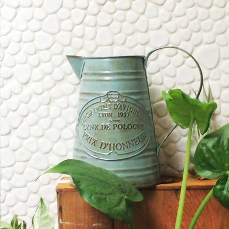 【Meric Garden】歐式仿舊復古雜貨風鐵藝裝飾花器 (澆水罐)