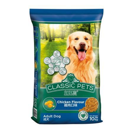 【Classic Pets】加好寶乾狗糧 - 雞肉口味 10kg