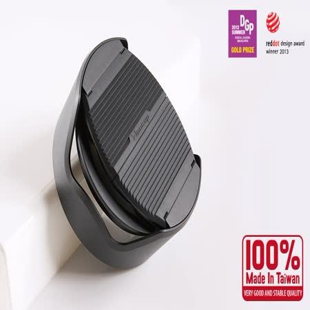 台灣HOOCAP二合一半自動鏡頭蓋兼遮光罩M6652A(相容原廠SONY遮光罩ALC-SH115遮光罩.ALC-SH116遮光罩.LHP-1遮光罩)