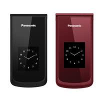 Panasonic VS-100 2.8吋雙大畫面老人機(VS100)◆送8G記憶卡+橫掛式皮套(黑)