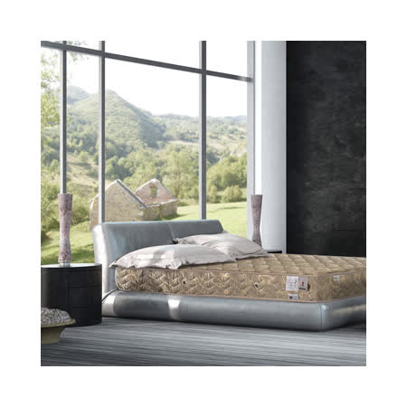 法國MONTAGUT-二線連結式手工床墊-單人3.5尺M02