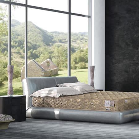 法國MONTAGUT-二線連結式手工床墊-加大6尺M02