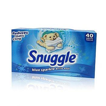 美國進口Snuggle 衣物柔軟片 40張