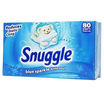 美國進口Snuggle 衣物柔軟片 80張