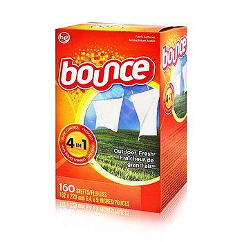 美國原裝進口Bounce 烘衣柔軟片 160片