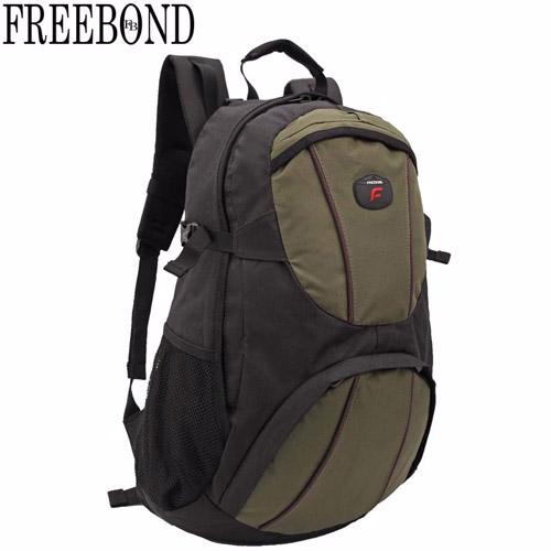~Freebond~15吋電腦休閒後背包FRN~201GN 黑綠
