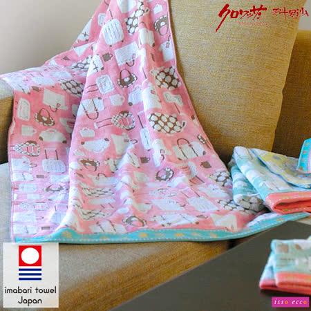 【クロワッサン科羅沙】日本ISSO ECCO今治(imabari towel)~無撚旅行箱方巾 34*35