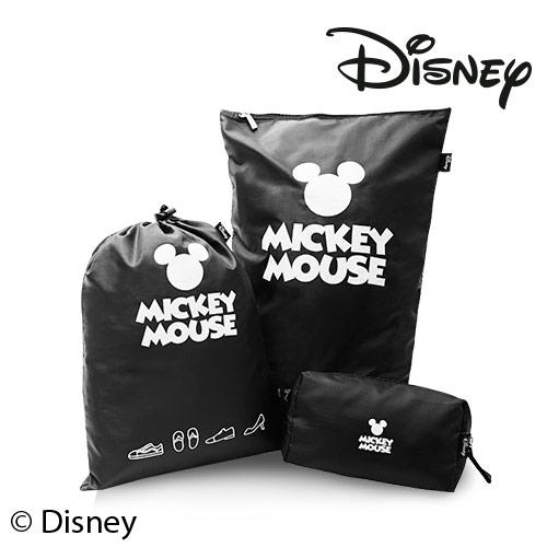 Disney 迪士尼 防潑水旅行收納台中 大 遠 百貨(三件組)