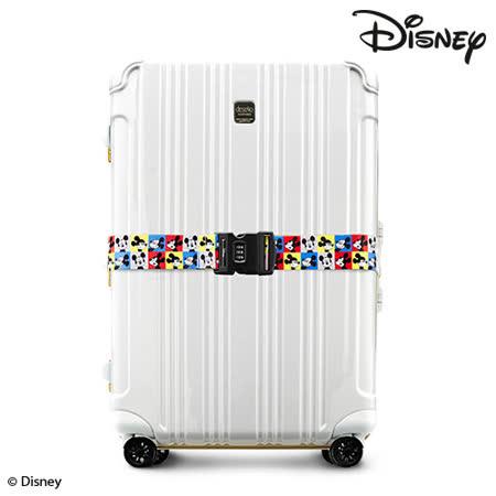 Disney 迪士尼系列-旅遊焦點密碼行李束帶