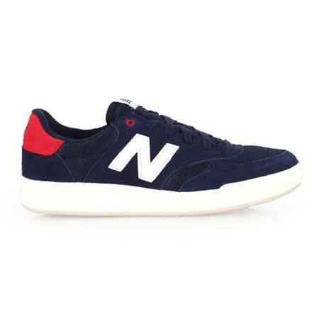 (男) NEWBALANCE 300系列 復古休閒鞋- N字鞋 NB 藍紅白