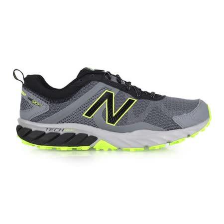 (男) NEWBALANCE 610 越野慢跑鞋-2E- 寬楦 路跑 N字鞋 灰黑綠