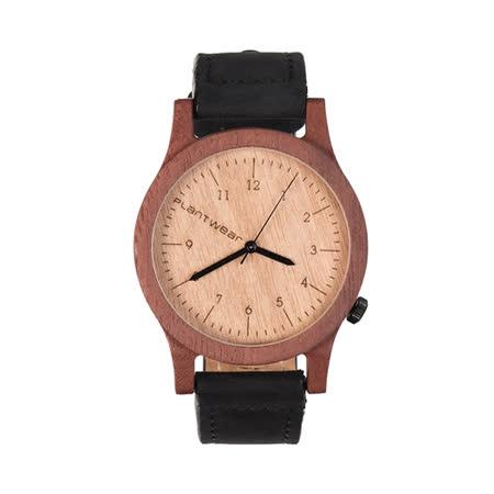 Plantwear 歐洲手工製實木手錶-Heritage series-象牙白-紅檀木(42mm)