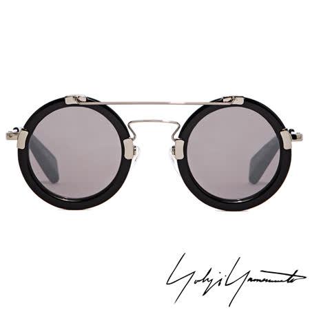 Yohji Yamamoto 山本耀司復古圓框解構太陽眼鏡-灰【YY5006-019】