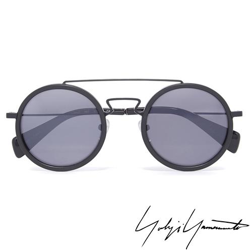 Yohji Yamamoto 山本耀司 前衛太陽眼鏡~黑~YY5010~002