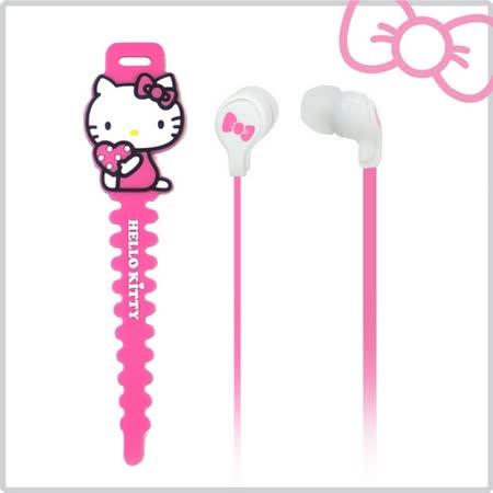 【超值三入組】Hello Kitty入耳式線控耳機 (KT-EM13)