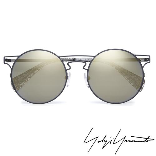 Yohji Yamamoto 山本耀司 前衛太陽眼鏡~金~YY7006~004