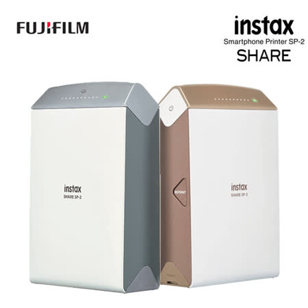 FUJIFILM instax SHARE SP-2 印相機(公司貨).-送卡通底片(圖案隨機)+雙層相本