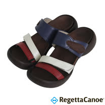 RegettaCanoe-(女款)CJEG-5224優雅樂步休閒鞋-紅/白/藍