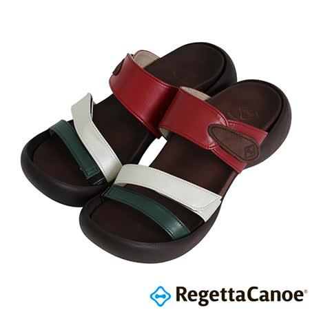 RegettaCanoe-(女款)CJEG-5224優雅樂步休閒鞋-綠/白/紅