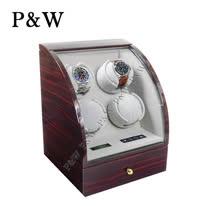 【P&W手錶上鍊盒】 【大錶專用】4+2支裝 電子式LED顯示 動力儲存盒 機械錶專用