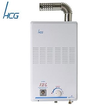 和成 GH585K屋內大廈型強制排熱水器 12L