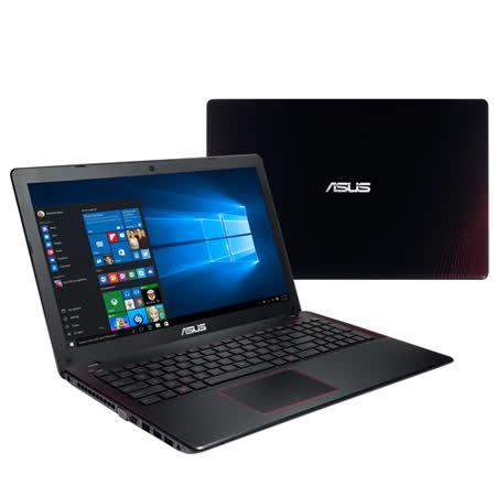 【ASUS華碩】X550VX-0083J6700HQ i7-6700HQ 4G記憶體 15.6吋FHD 1TB(7200轉) GTX950M 2G W10 (黑紅)