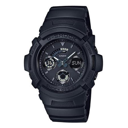 CASIO 卡西歐 G-SHOCK 夏日熱浪時尚運動休閒腕錶/46.4mm/AW-591BB-1A