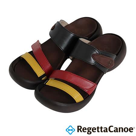 RegettaCanoe-(女款)CJEG-5224優雅樂步休閒鞋-黃/紅/黑