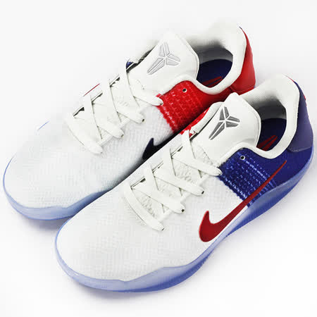 nike 大童 KOBE XI BG  籃球鞋 藍/白 - 822945184