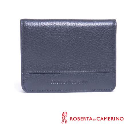 ROBERTA DI CAMERINO 皮帶腰包 - 黑色 040R-B0001
