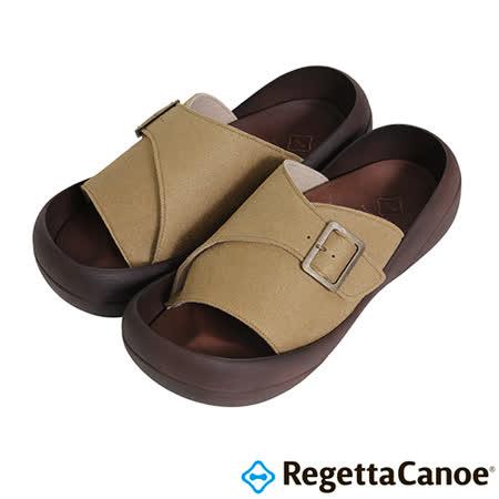 RegettaCanoe _(男款)CJBF-5142優雅樂步休閒鞋-橡樹色