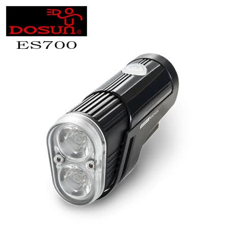 DOSUN ES700 高流明USB充電式自行車前燈 黑