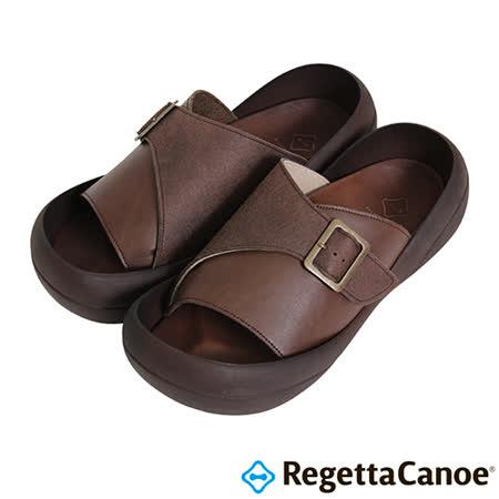 RegettaCanoe _(男款)CJBF-5143優雅樂步休閒鞋-褐色