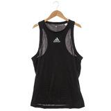 Adidas(男)慢跑背心 黑S13641