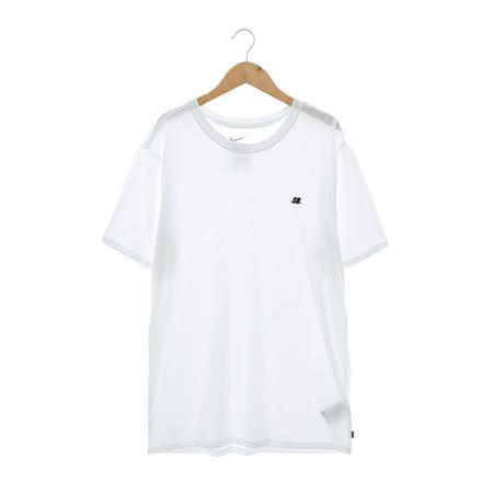 NIKE(男)圓領短T 白806055100