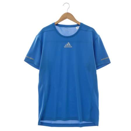 Adidas(男)圓領短T 藍AX7530