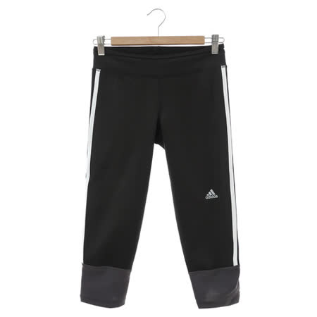 adidas(女)運動長褲 黑AX6595