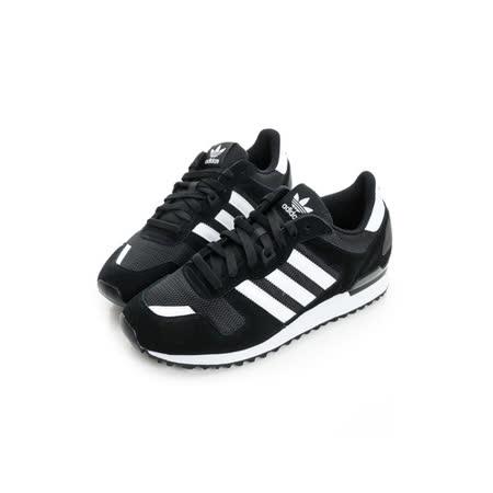 adidas (男女) 經典復古鞋  黑白S76174