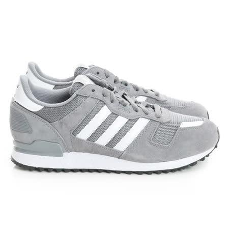 adidas (男) 經典復古鞋 灰白S76175