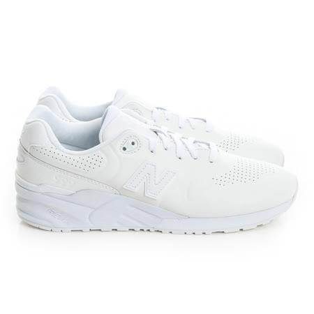New Balance (男女) 經典復古鞋 白MRL999AH
