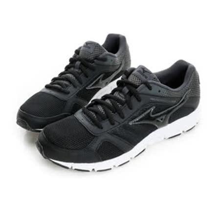 MIZUNO (男) 慢跑鞋 黑J1GE162811