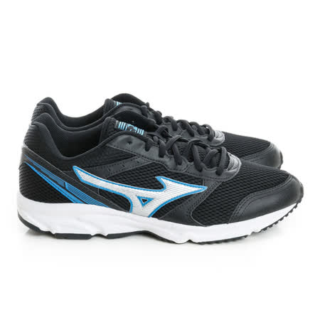 MIZUNO (男) 慢跑鞋 黑藍灰K1GA161203