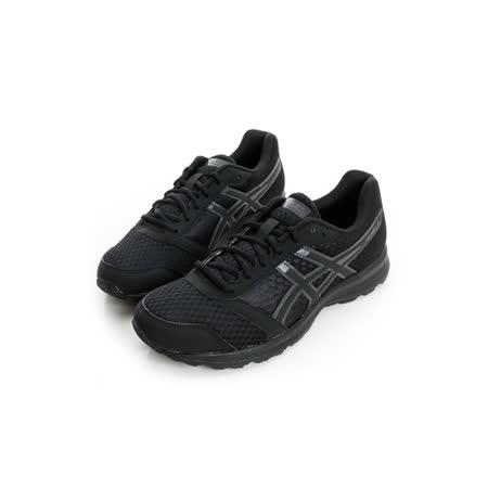 ASICS (男) 慢跑鞋 黑T619N9990