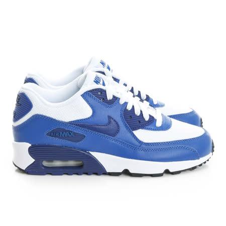 NIKE (童) 經典復古鞋 藍白黑833418105