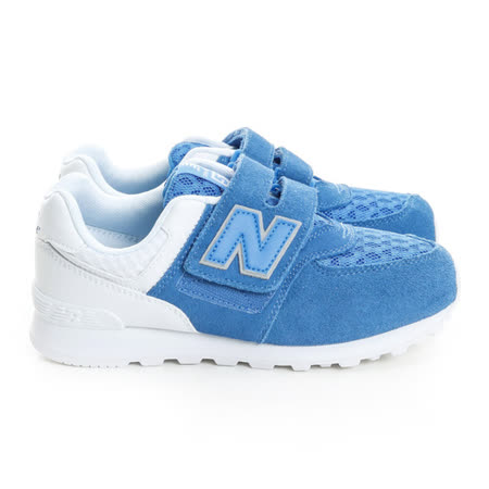 New Balance (童) 經典復古鞋 藍白KV574QBY