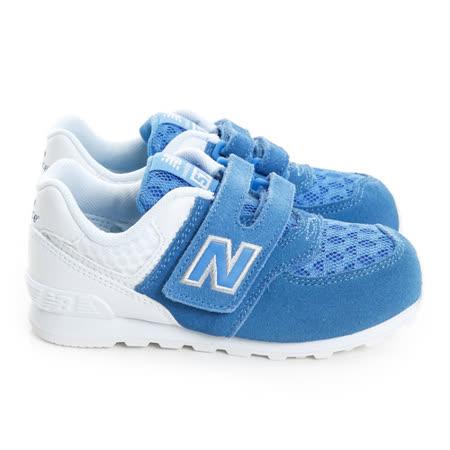New Balance (童) 經典復古鞋 藍白KV574QBI