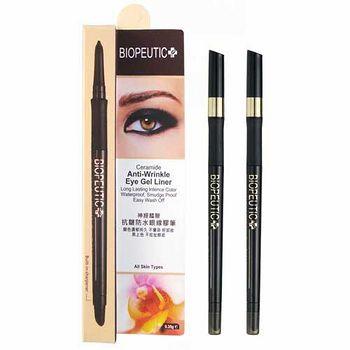 【效期品】 BIOPEUTIC葆療美 抗皺防水眼線膠筆(自然黑)0.35g (買1送1)