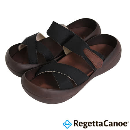 RegettaCanoe _(男款)CJBF-5140優雅樂步休閒鞋-黑色