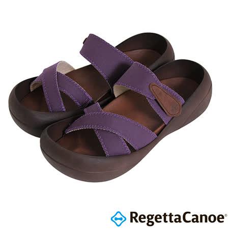 RegettaCanoe _(男款)CJBF-5140優雅樂步休閒鞋-深紫色